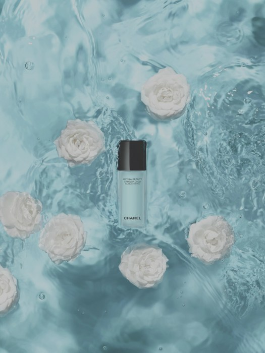 Chanel Beauty HYDRA BEAUTY Camellia Glow Concentrate, $129 (available 28 May)