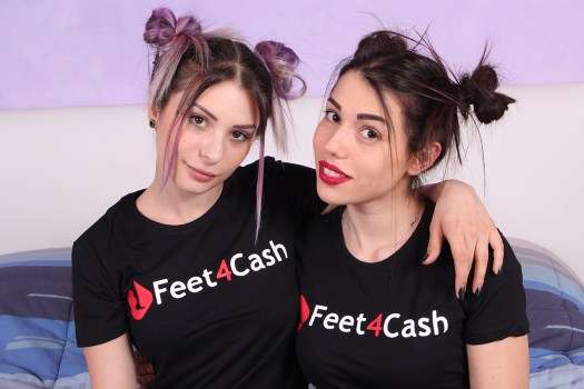 Violet and Petra (Feet4Cash)