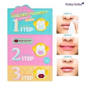 Best Korean Lip Patch - Gold Monkey Holika Lip Mask