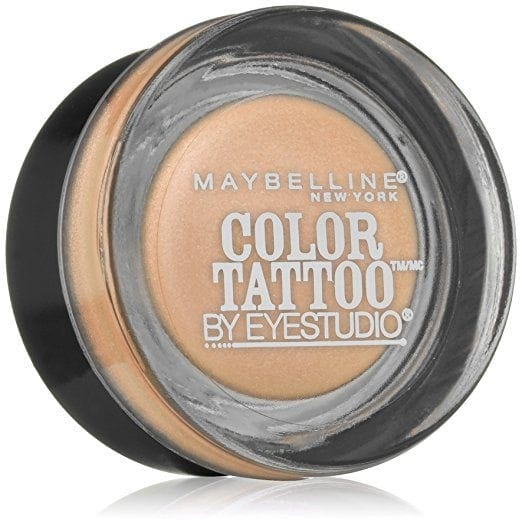 awesome travel beauty products - Maybelline Eye Studio Color Tattoo Eyeshadow