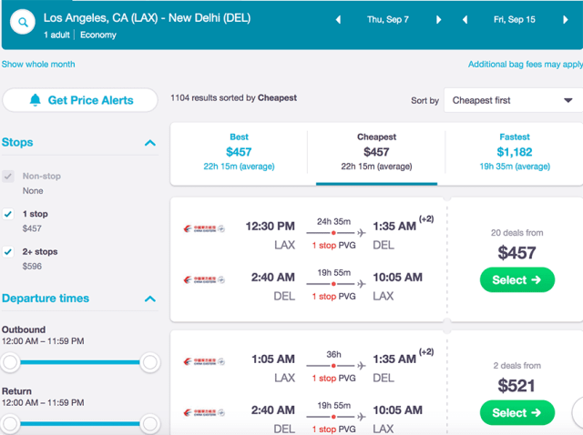 travel hacks how to find cheap flights - Skyscanner - 3