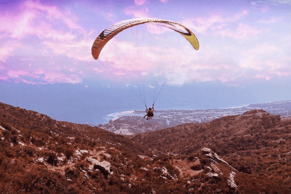 Paragliding and Paramotoring in Los Angeles Malibu