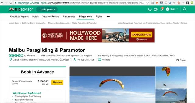Paragliding and Paramotoring in Los Angeles- Malibu