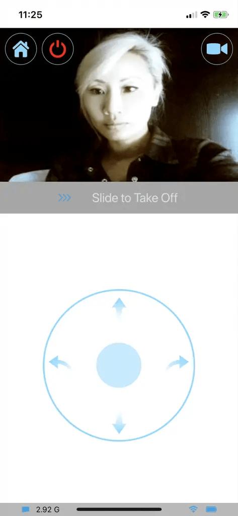 Air Selfie Control Panel Selfie Mode