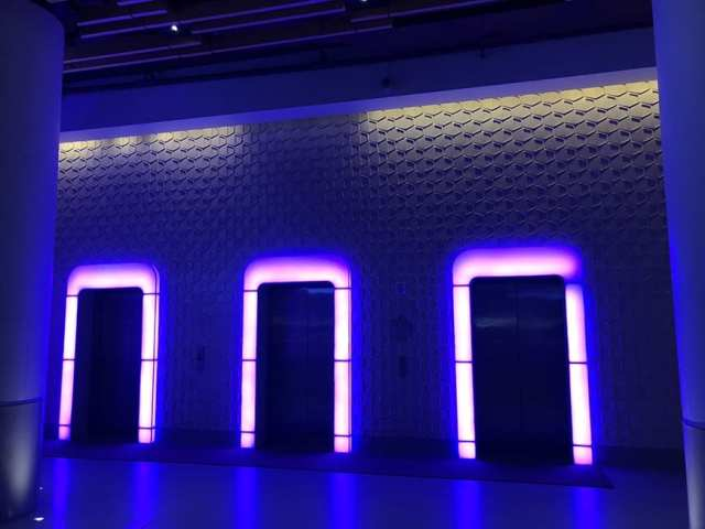 1 yotel new york at times square west reviews - Lobby Elevators