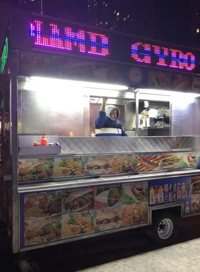 Halal Cart Yotel NYC