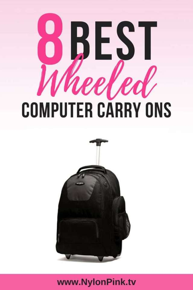8 Best wheeled computer carry ons - Pinterest