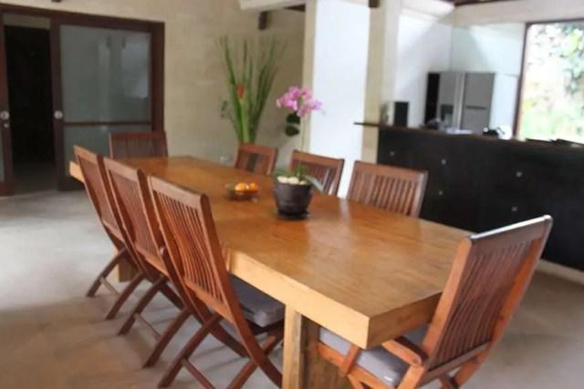 Jamahal Private Resort & Spa Jimbaran Bay_DiningTable