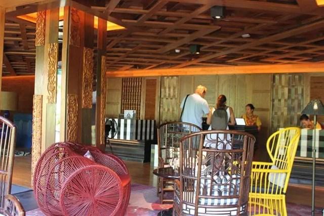 hotel indigo bali seminyak beach - lobby