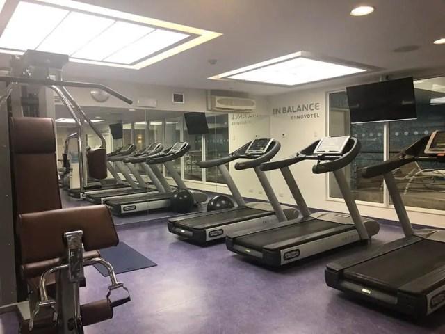 Novotel hotel san isidro lima Peru - gym