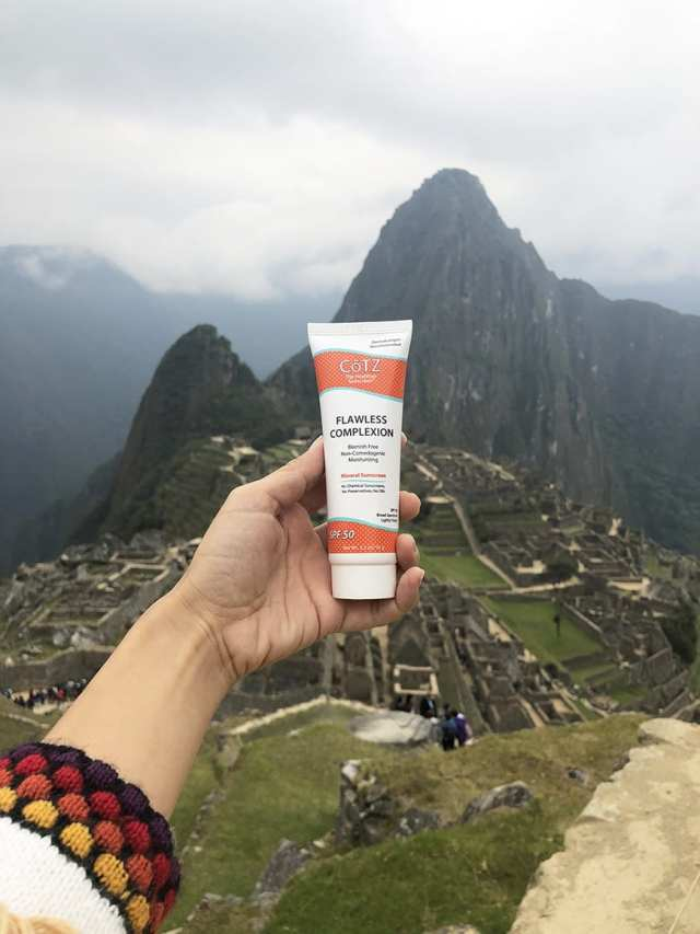 Best Mineral Sunscreen For Your Face Cotz Machu Picchu