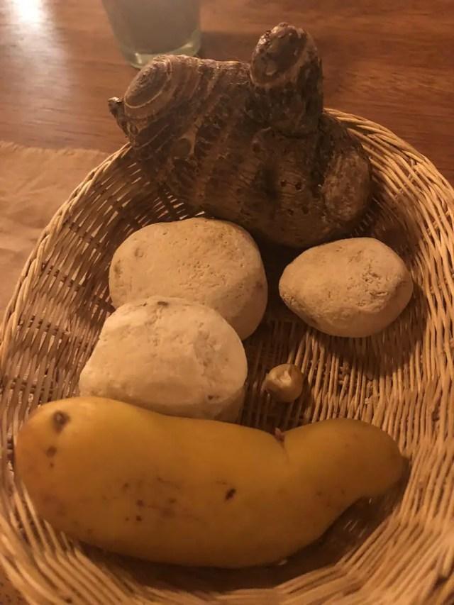 el albergue ollantaytambo - chuncho raw vegetables