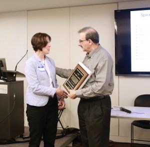 Frank Bowe Award was presented Dr. Jamie S. Mitus