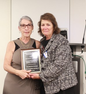 Marilyn Monroe-Morell Advocacy Award was presented to Wendy Hersh