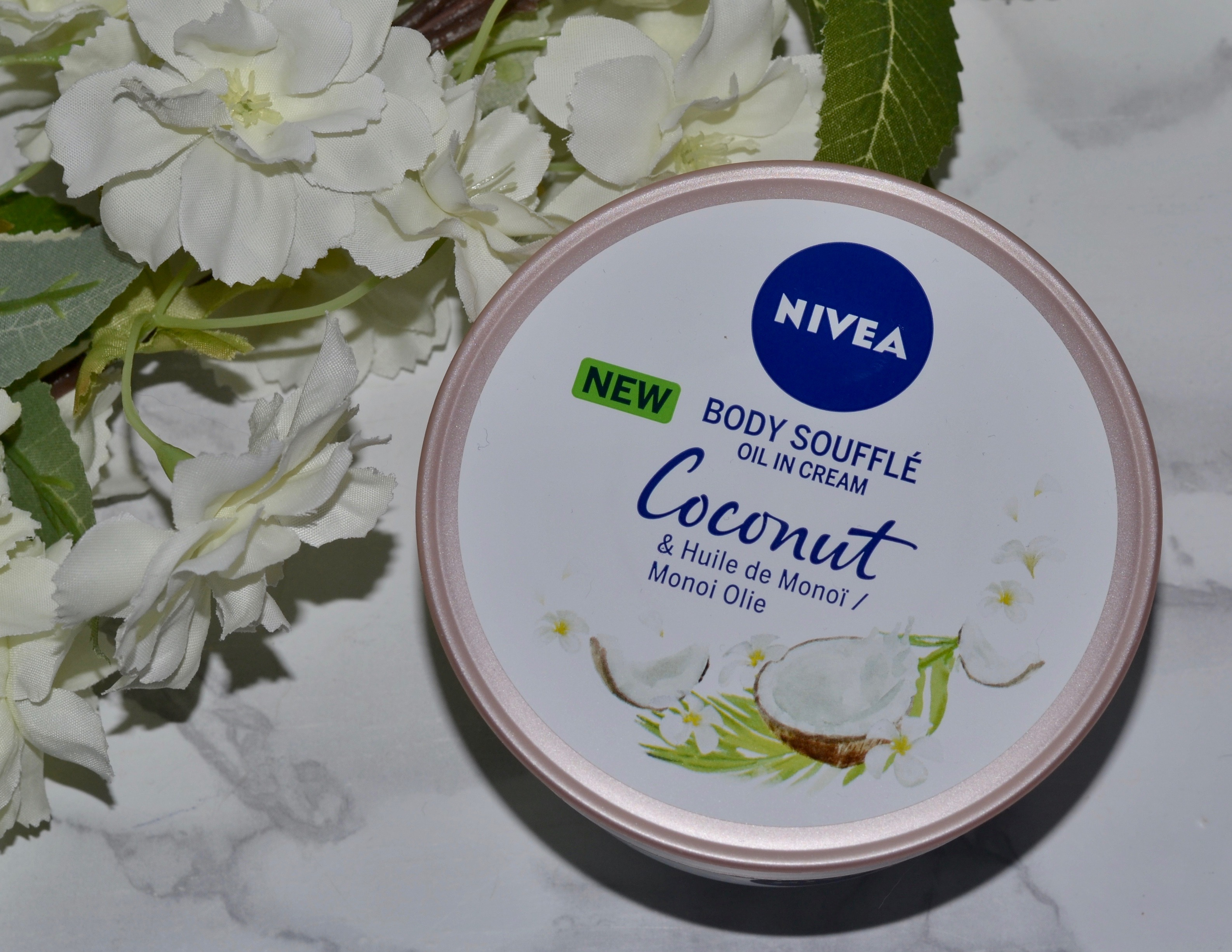 Nivea Body Soufflé Coconut