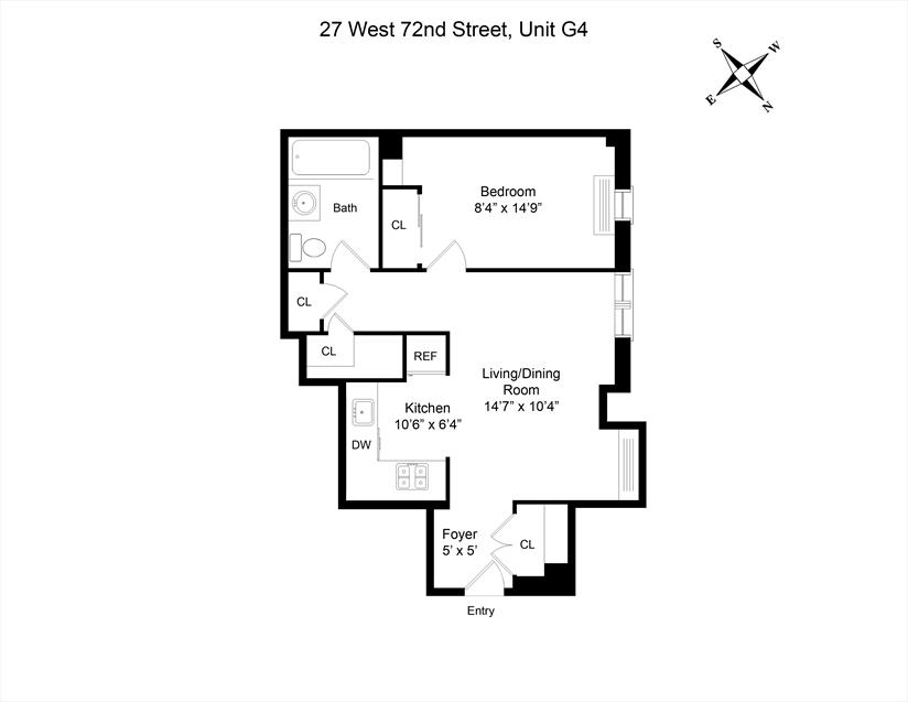 The Olcott at 27 West 72nd Street in Upper West Side