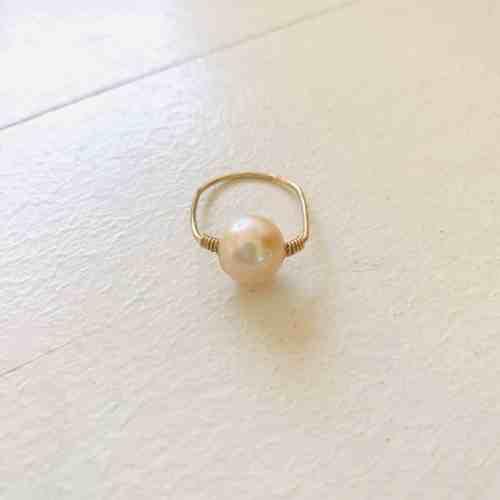 Nynybird Bague pearl