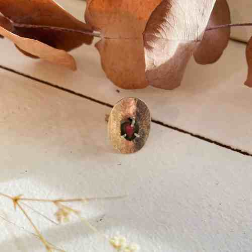 Nynybird Bague Luige tourmaline pastèque