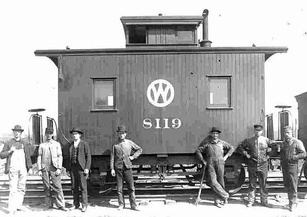 The O W S Other Cabooses Early 8 Wheel Caboose Cars Of Nyo Railway By Ronald J Stanulevich