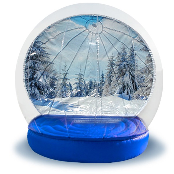 Inflatable Snow Globe Rental  NY Party Works