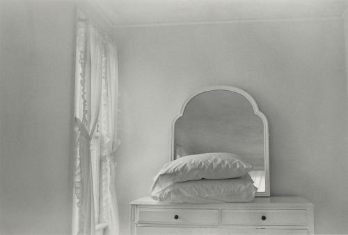 "Lilo Raymond, 1922–2009. ""Two Pillows."" Gelatin silver print, 1976. NYPL, The Miriam and Ira D. Wallach Division of Art, Prints and Photographs. © and reproduced courtesy of the Estate of Lilo Raymond."