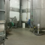 The Sprecher fermentation tanks.