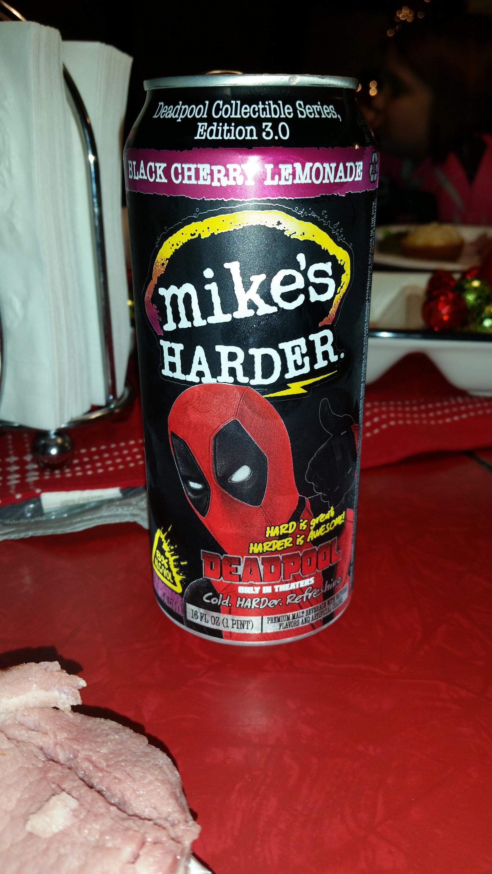 Harder Black Cherry Lemonade