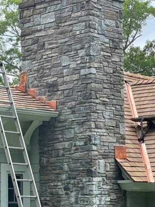 Stone Chimney Installation - Town Name