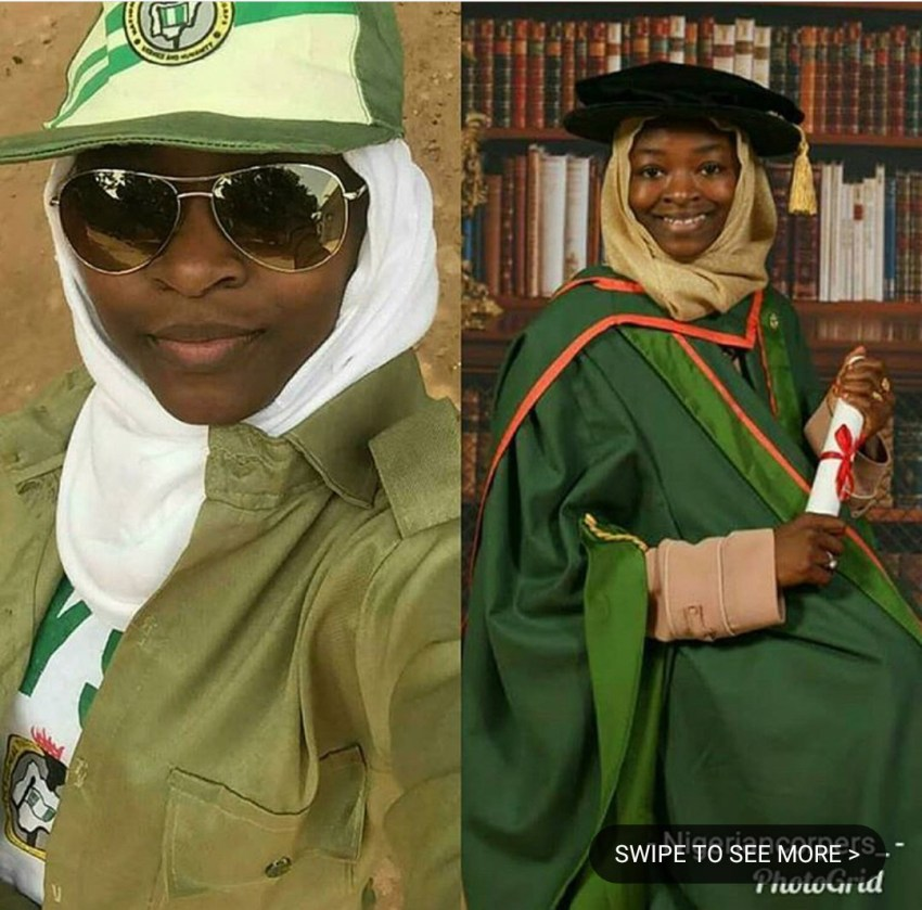 Meet Zainab Ibrahim Adiya Who Is Probably The First NYSC Member With PhD