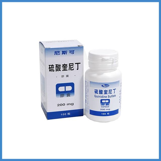 硫酸奎尼丁 - 處方藥