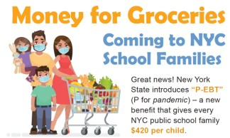Parents of Every NYC Public School Student to Receive 0 to Buy Food
