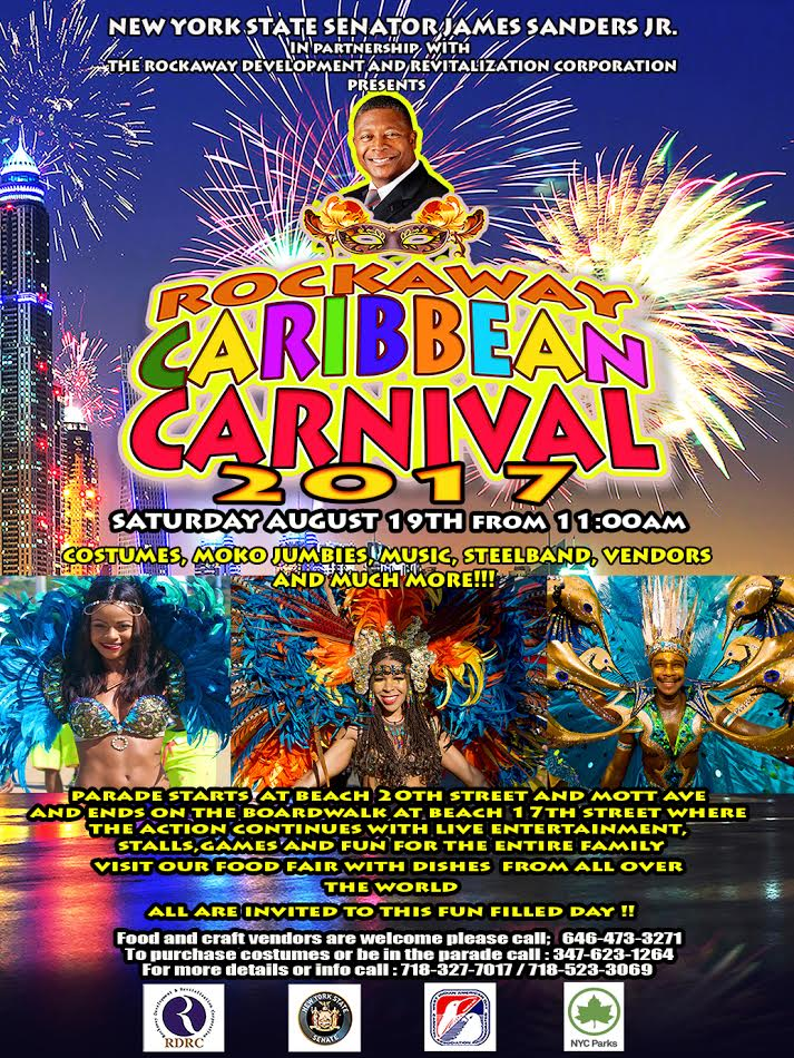 Press Conference to Launch Rockaway Caribbean Carnival