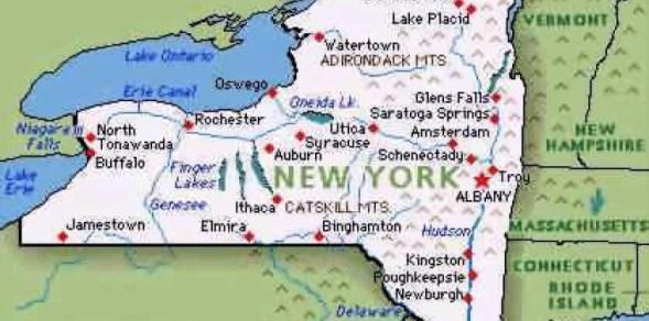 Splitting New York State?   NY State Senate