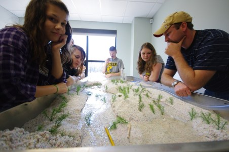 YSDE Students work at the Canaan Valley Institute