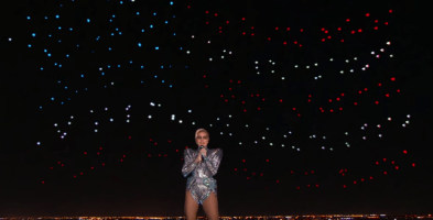 Why Lady Gaga's Super Bowl drone show is a great news for UAV mapping