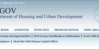 Congressional Bill to Eliminate HUD Federal Funding for Geospatial Data