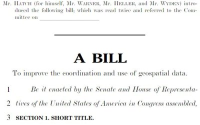 Geospatial Data Act of 2017 – UPDATE