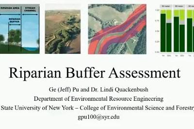 Riparian Buffer Assessment