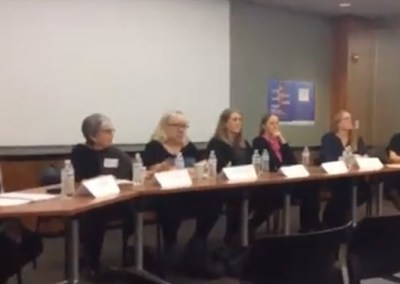 GISMO and SWG's Women in GIS Panel 03-08-2018 at the NYCEDC