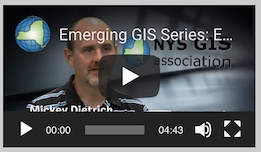 Link to Emerging GIS Video on YouTube Mickey Dietrich