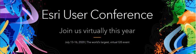 REMINDER: Register for Esri's Virtual User Conference (NEXT WEEK)!