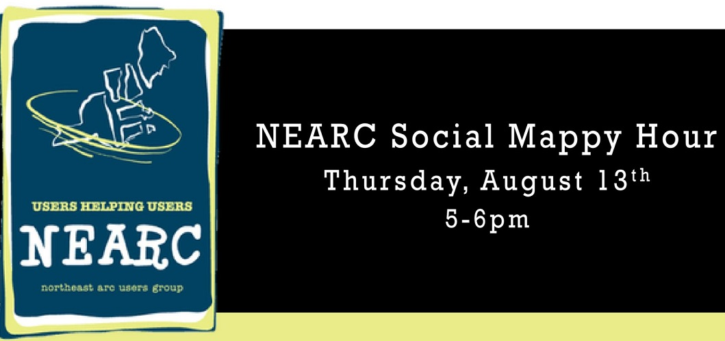 NEARC Mappy Hour | 13 August