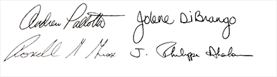 officer signatures