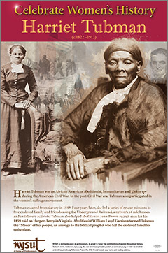 free poster honors harriet tubman