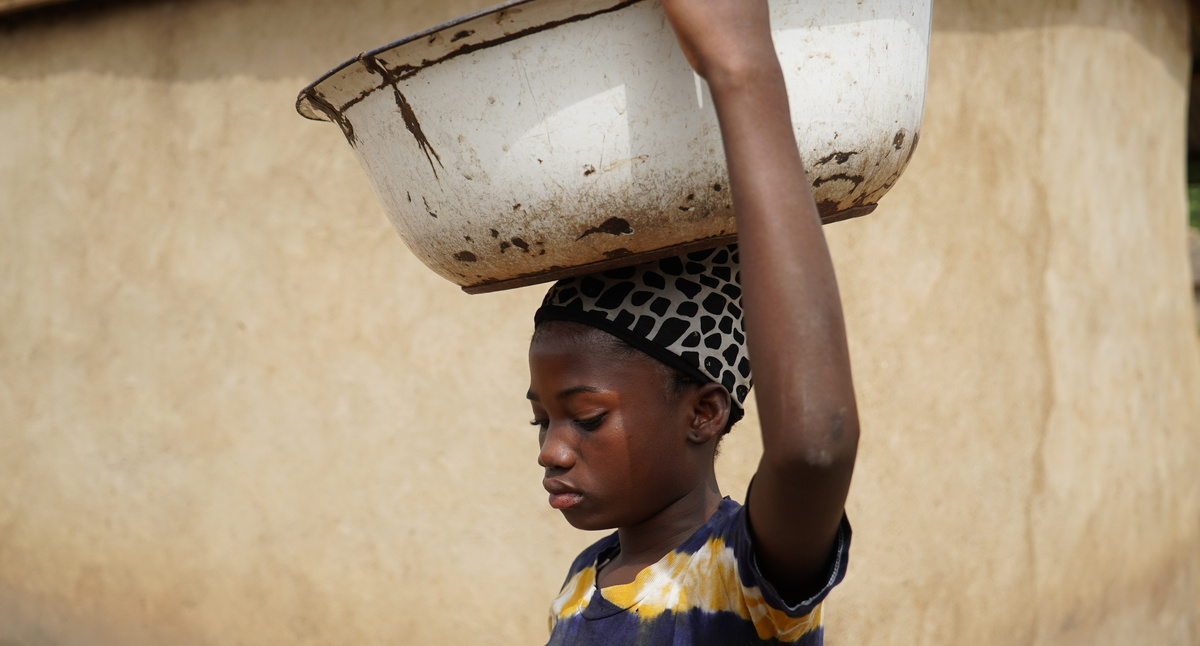 Portrett av en barnearbeider