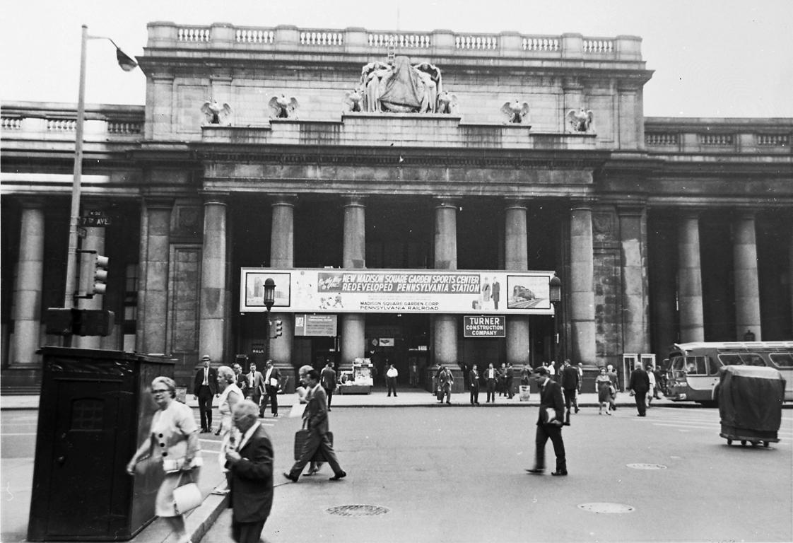 Penn Station, 1963
