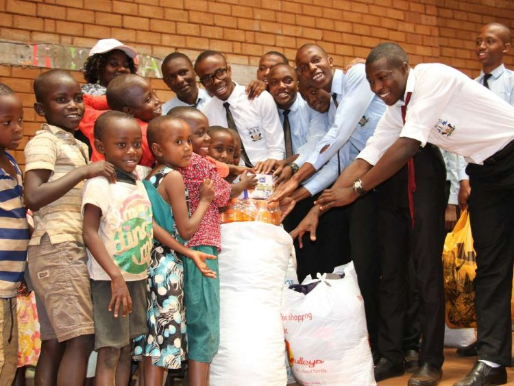 Generous Act of Kindness from Kenyan High School