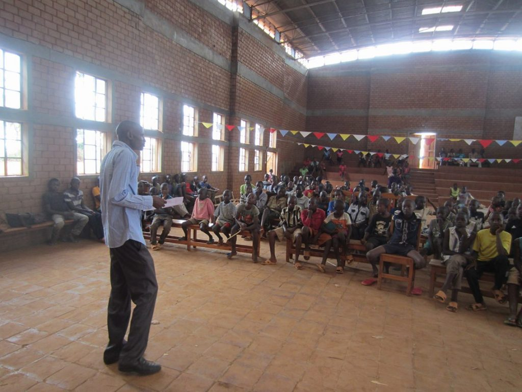Water Conservation Lessons in Nyumbani Village