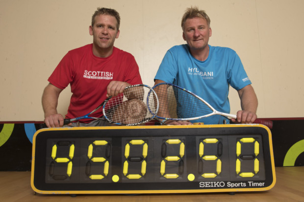 Mark James breaks another world record while fundraising for Nyumbani