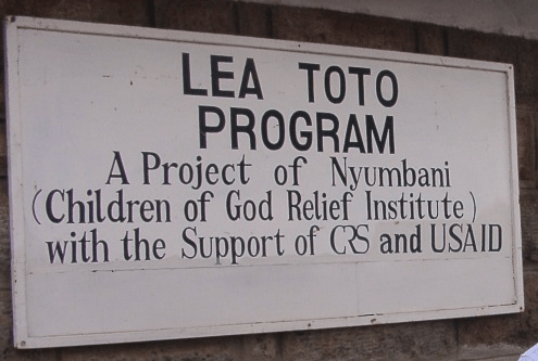New survey carried out by staff in Nyumbani's Lea Toto program